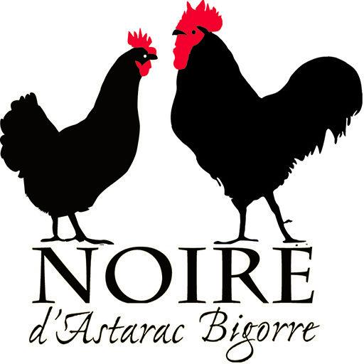 Volaille Noire d'Astarac Bigorre ou poule gasconne